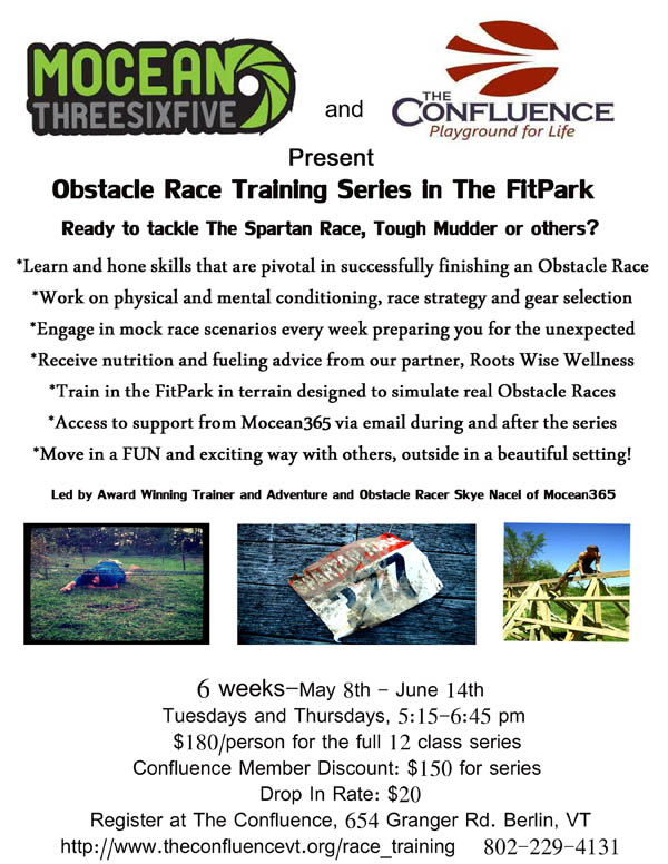 A Obstacle Racing Flyer
